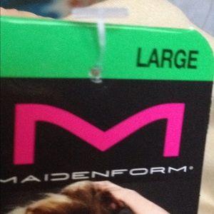 02cf9c7580cd4 Maidenform Intimates   Sleepwear - Maidenform Shapewear Hi Waist Boy Short  SZ Lg NWT